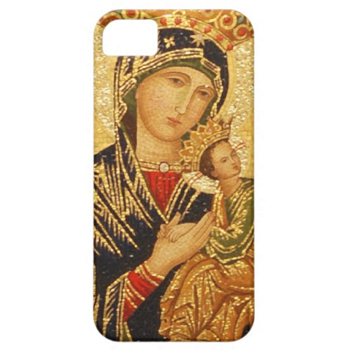 Our Lady of Perpetual Help iPhone SE55s Case