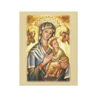 Our Lady of Perpetual Help Icon. Canvas Print