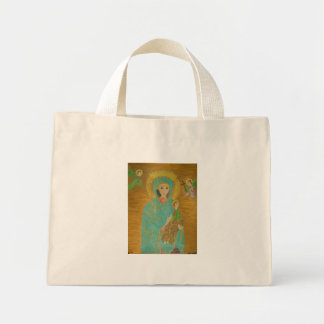 Our Lady of Perpetual Help Mini Tote Bag