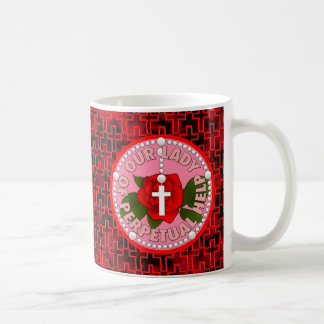 Our Lady of Perpetual Help Classic White Coffee Mug
