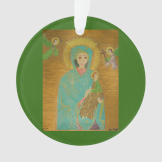 Our Lady of Perpetual Help Ornament