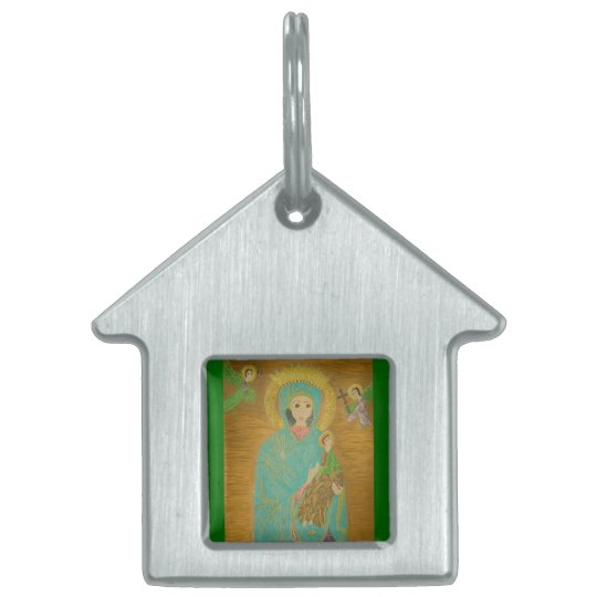 Our Lady of Perpetual Help Pet Tag