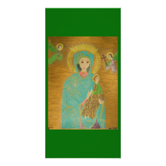 Our Lady of Perpetual Help Photo Card