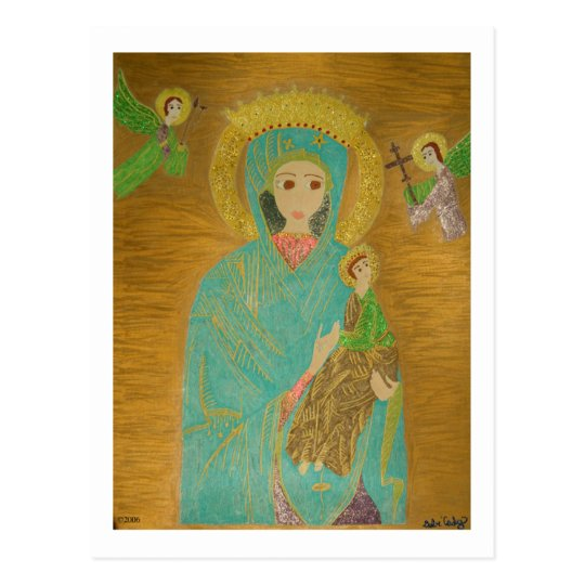 Our Lady of Perpetual Help Postcard