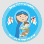 Our Lady of Perpetual Help Sticker