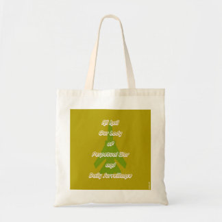 """""""Our Lady of Perpetual War"""" Tote"""