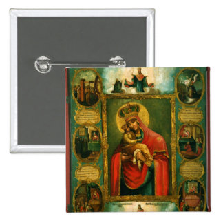 Our Lady of Pochaev Pinback Button