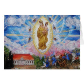 Our Lady Of Prompt Succor Prayer Greeting Card