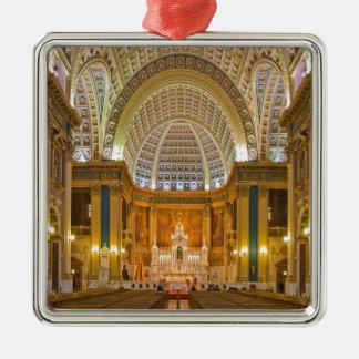 Our Lady of Sorrows Basilica National Shrine Metal Ornament