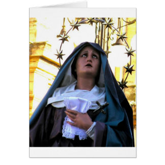 Our Lady of Sorrows Card