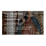 Our Lady Of The Annunciation., By Piero Della Business Card