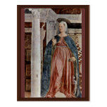 Our Lady Of The Annunciation., By Piero Della Postcards
