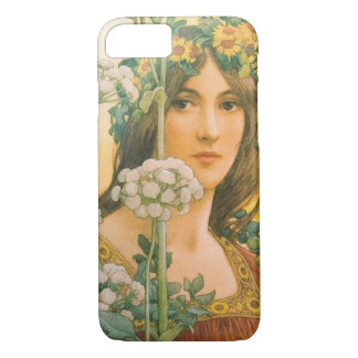 Our Lady of the Cow Parsley 1910 iPhone 7 Case