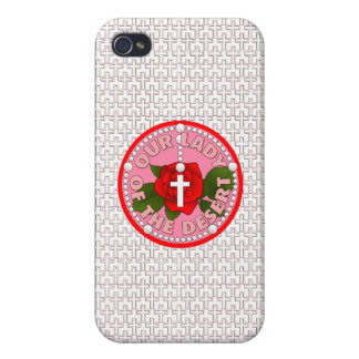 Our Lady of the Desert iPhone 4/4S Cases