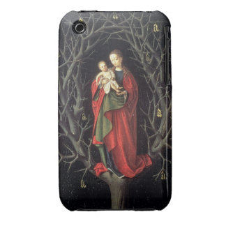 Our Lady of the Dry Tree c.1450 (oil on panel) iPhone 3 Cover