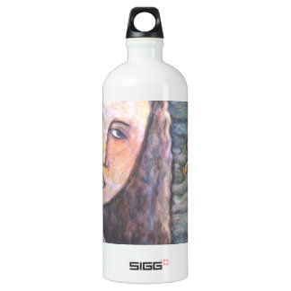 Our Lady of the Fishes Aluminum Water Bottle