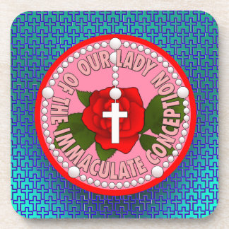 Our Lady of the Immaculate Conception Beverage Coaster
