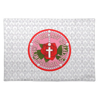 Our Lady of the Immaculate Conception Cloth Placemat
