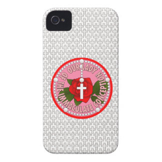 Our Lady of the Immaculate Conception iPhone 4 Case-Mate Case