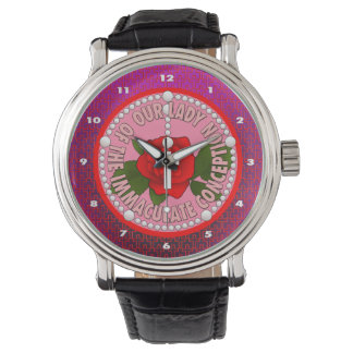 Our Lady of the Immaculate Conception Wrist Watch