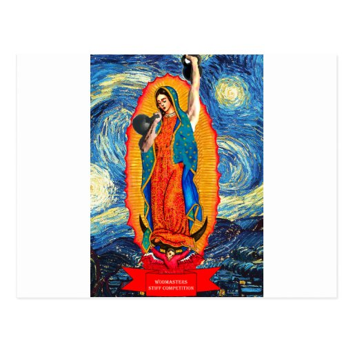 Our Lady of the KettleBells Postcards