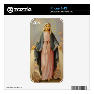 Our Lady of the Miraculous Medal iPhone Case iPhone 4S Decal