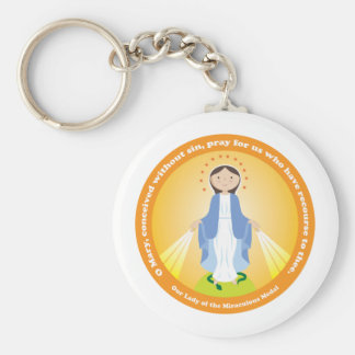 Our Lady of the Miraculous Medal Key Chains