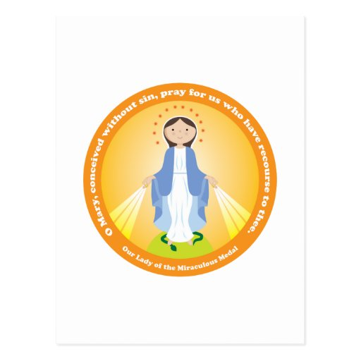 Our Lady of the Miraculous Medal Post Cards