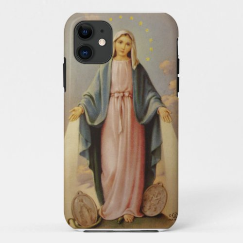Our Lady of the Rosary Blessed Mother Mary Phone Case