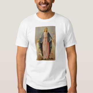Our Lady of the Rosary Blessed Mother Mary Tshirt