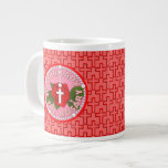 Our Lady of the Rosary Extra Large Mugs