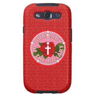 Our Lady of the Rosary Galaxy S3 Case