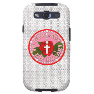 Our Lady of the Rosary Galaxy S3 Covers