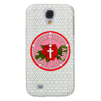 Our Lady of the Rosary Galaxy S4 Covers