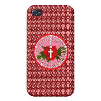 Our Lady of the Rosary iPhone 4 Case