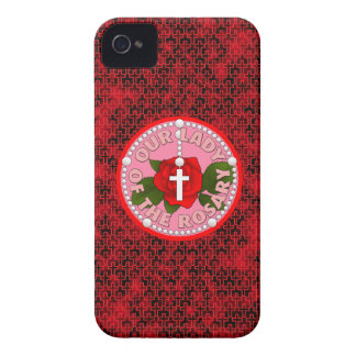 Our Lady of the Rosary iPhone 4 Case-Mate Case