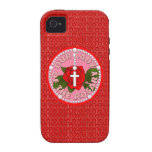 Our Lady of the Rosary iPhone 4 Cover