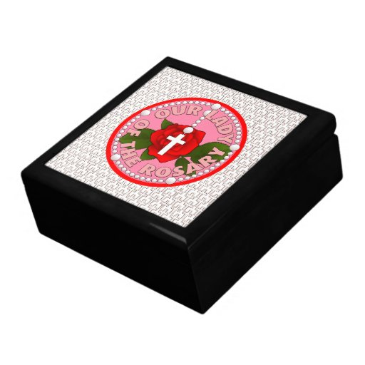 Our Lady of the Rosary Jewelry Boxes