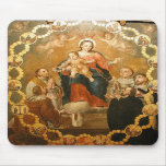 OUR LADY OF THE ROSARY MOUSE PADS