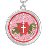 Our Lady of the Rosary Pendants