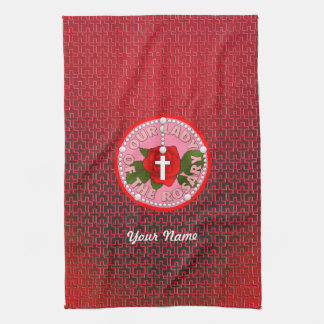 Our Lady of the Rosary Towel