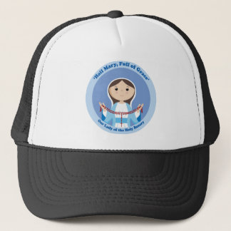 Our Lady of the Rosary Trucker Hat