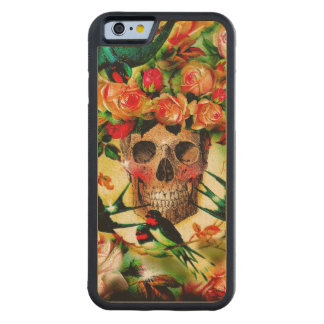 Our Lady of the Roses Wood Case Maple iPhone 6 Bumper Case