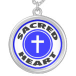 Our Lady of the Sacred Heart Custom Necklace