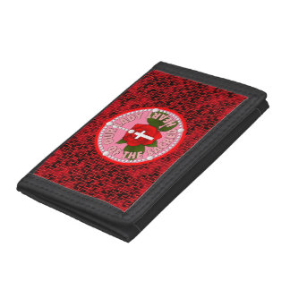 Our Lady of the Sacred Heart Tri-fold Wallet