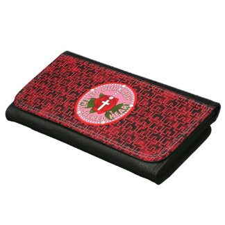Our Lady of the Sacred Heart Wallets