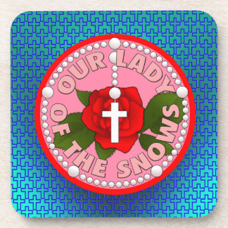 Our Lady of the Snows Beverage Coaster