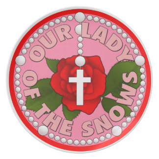 Our Lady of the Snows Plate