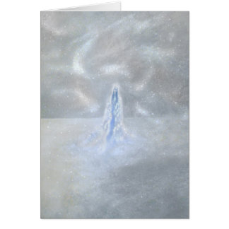 Our Lady of the Snows with Poem Stationery Note Card