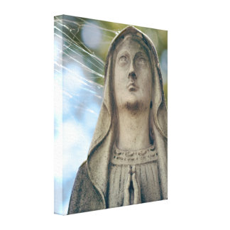 Our Lady of the Spiderwebs Canvas Print